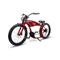 Ruff Cycles The Ruffian Elsykkel 2021 mod, Bosch, 500 Wh, Indian Red