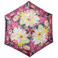 JOULES Rosa blomstrete Brolly paraply Rosa m/blomstermønster