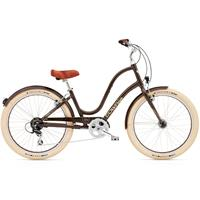 Electra Townie Balloon 8D EQ Damesykkel 8 gir, Coffee