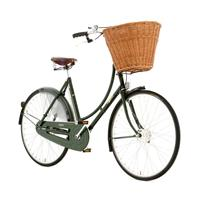 "Pashley Princess Classic Damesykkel 45 cm (17,5""), 3 gir, Regency Green"