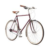 Pashley Countryman Herresykkel Burgundy