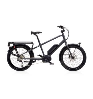 Benno Boost E 10D Bosch CX Elsykkel 500 Wh, SO, Anthracite Grey