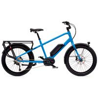 Benno Boost E 10D Bosch CX Elsykkel 500 Wh, SO, Machine Blue